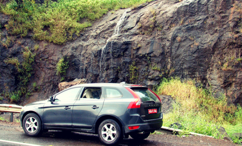Volvo XC60 outdoor