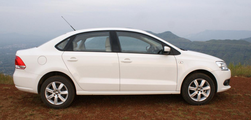 Vw Vento Right Side View