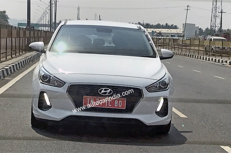 Hyundai i30 spotted testing on the Indian roads | CarTrade.com