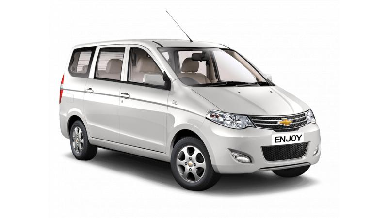 Chevrolet Enjoy Pics Review Spec Mileage Cartrade