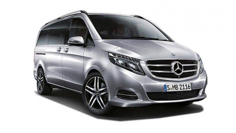 Mercedes Benz V-Class Images