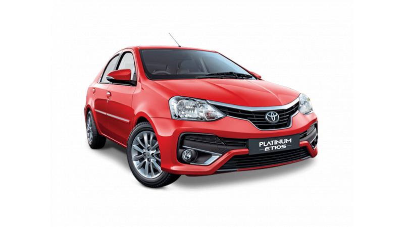 Toyota Platinum Etios Images