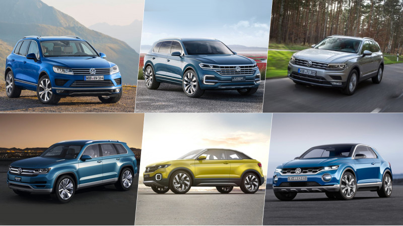 VW confirms 10 new SUVs for China, some India-bound