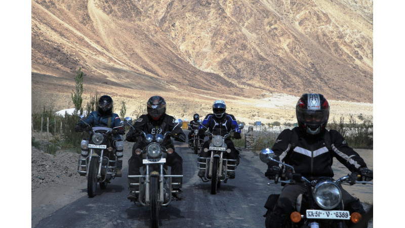 10th Royal Enfield Himalayan Odyssey kicks off in style from India Gate