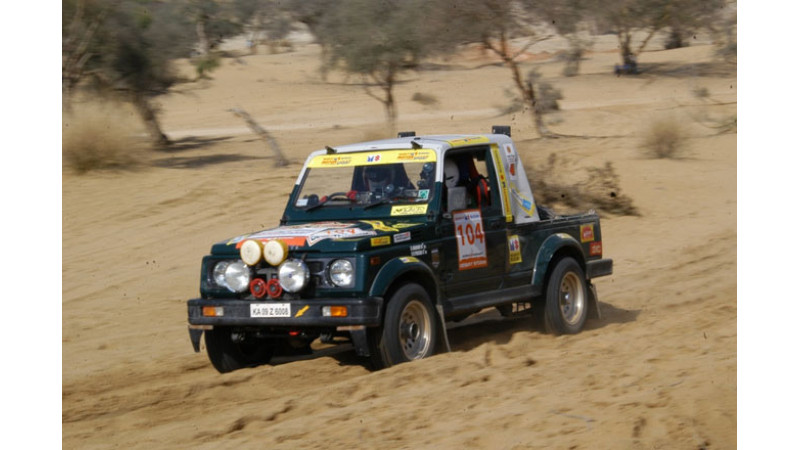 11th edition of Maruti Suzuki Desert Storm rally to kick start on February 18, 2013