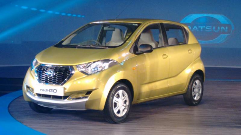 Datsun redi-GO unveiled
