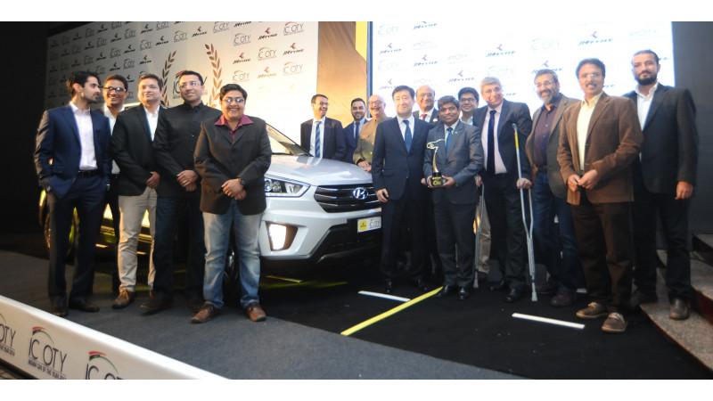 Hyundai Creta wins the ICOTY of the year