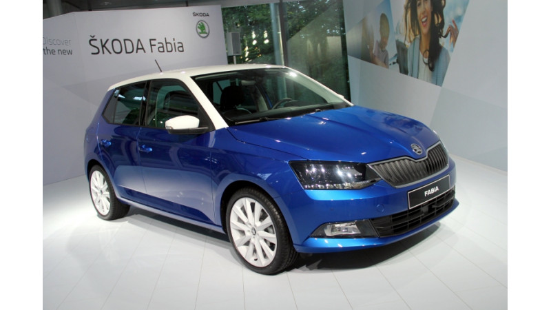 Skoda releases images and details of 2015 Fabia