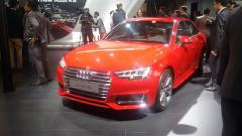 2016 Auto Expo: All-new generation of the Audi A4 unveiled