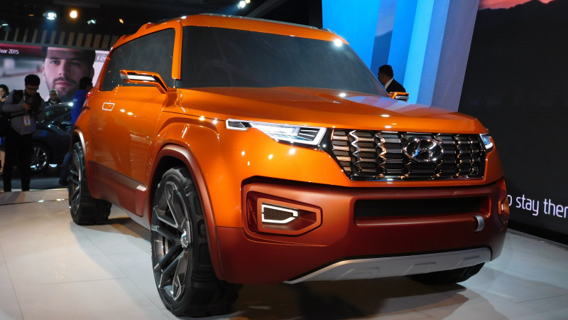 2016 Auto Expo: Hyundai reveals HND-14 compact SUV concept