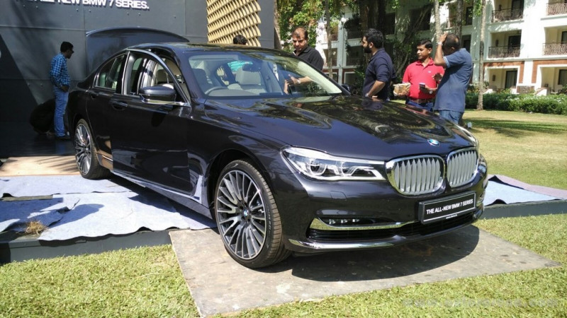 New BMW 7 Series makes Indian debut at customer event