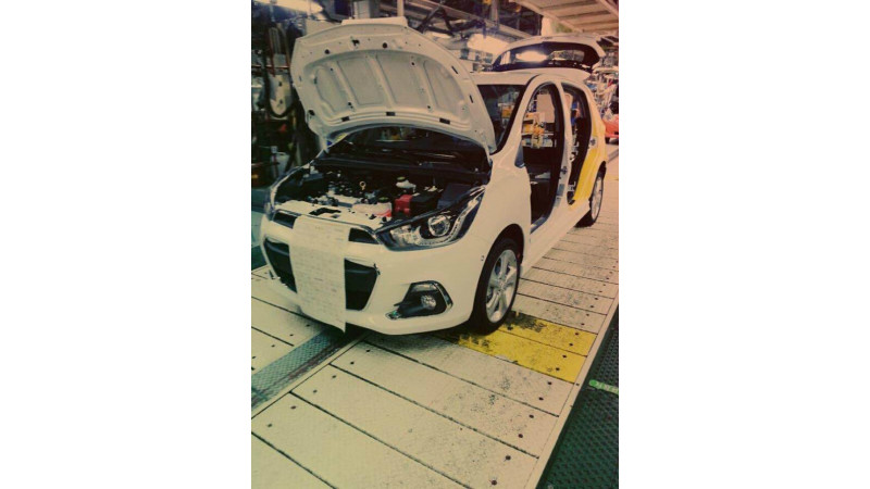 2016 Chevrolet Spark aka Beat interior revealed; debut on 2nd April