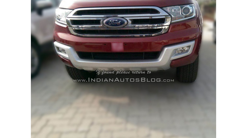 2016 Ford Endeavour arrives in India