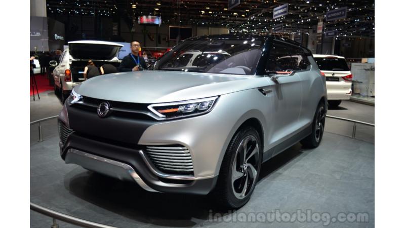 2016 Geneva Show: SsangYong Tivoli XLV 7-seater teased