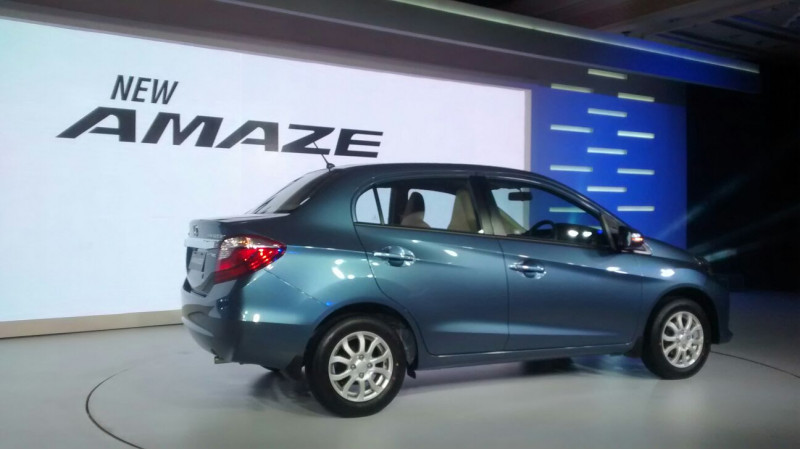 Honda launches Amaze facelift for Rs 5.29 lakh