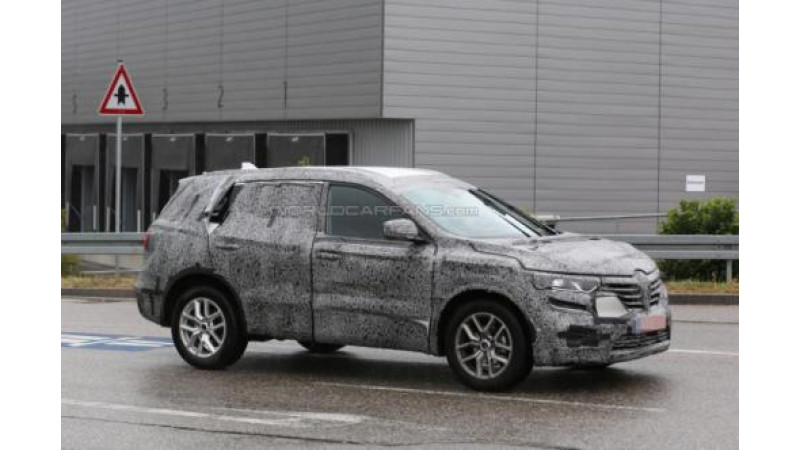 Spied: Renault Koleos successor in works