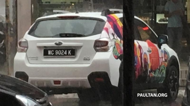 2016 Subaru XV facelift spotted in Malaysia