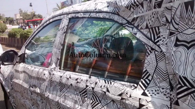 Tata's new compact SUV spotted on test