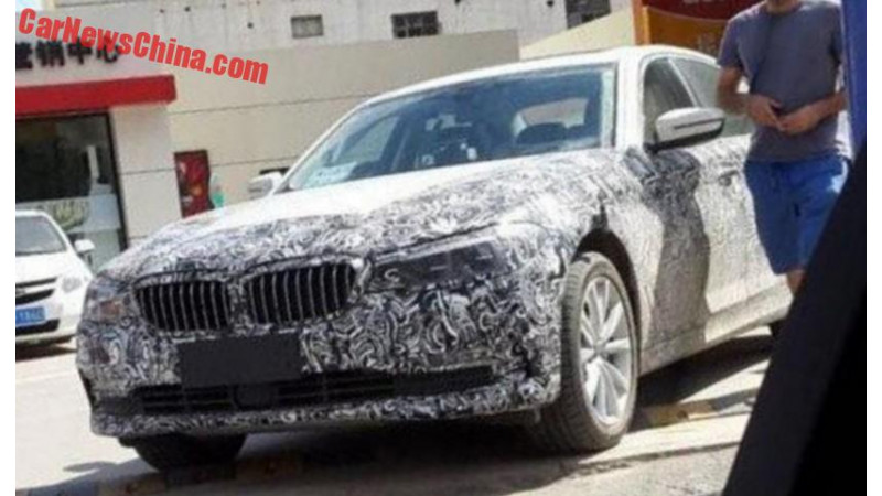 Next generation BMW 5 Series spotted testing in China