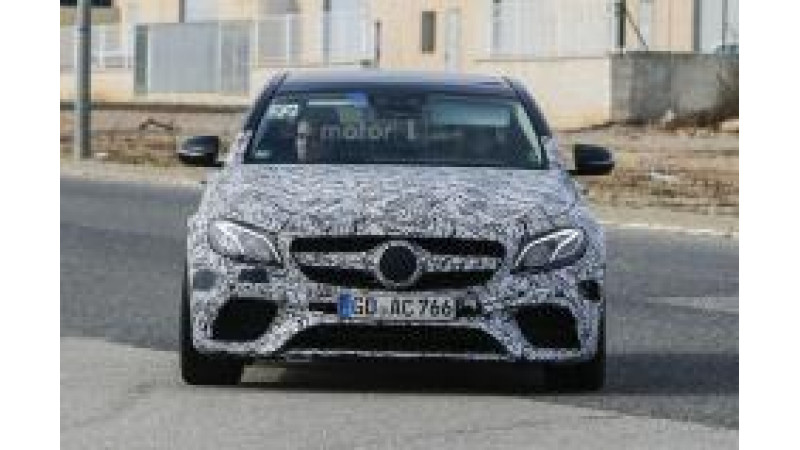 2017 Mercedes E63 AMG spied in Europe