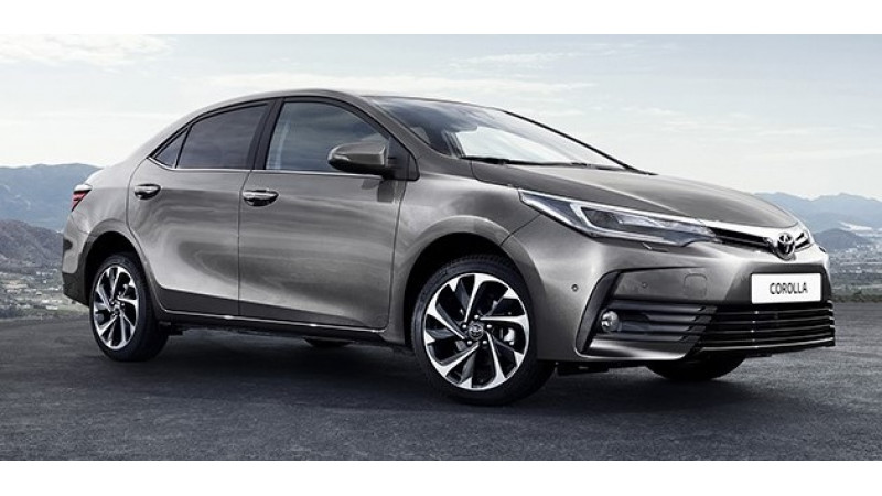 New Toyota Corolla previewed in Russia
