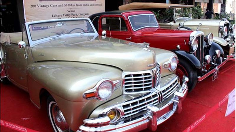 21 Gun Salute International Vintage Car Rally scheduled to be held between February 21 - 22