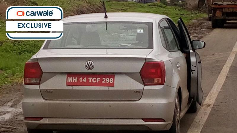 Ameo diesel caught testing