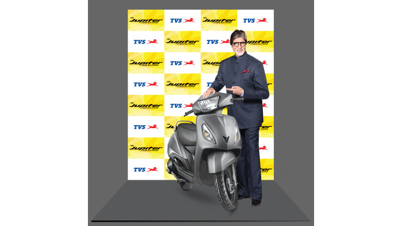 Amitabh Bachchan is the new 'Brand Philosophy Evangelist' for TVS Jupiter