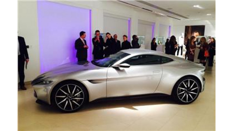 Aston Martin DB10 from James Bond 'Spectre' auctioned for Rs 23.96 Crore