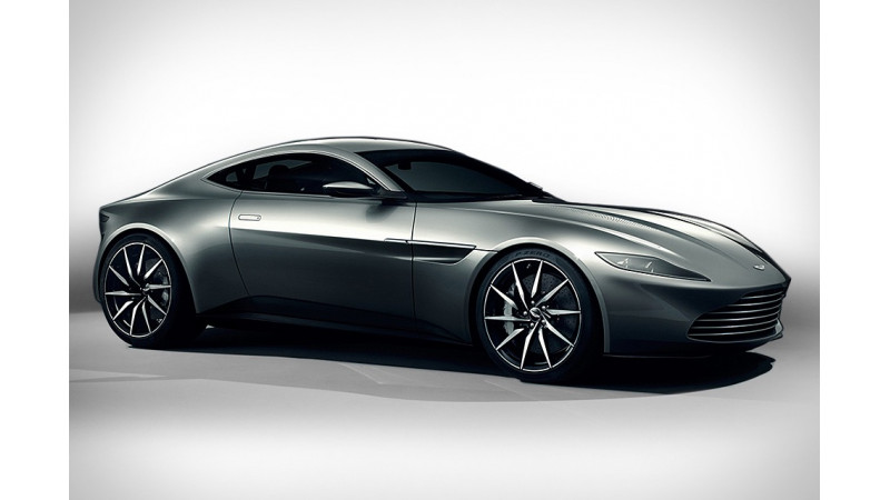 James Bond to drive special Aston Martin DB10 in Spectre