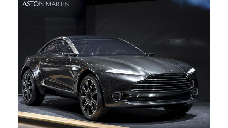 Aston Martin to build a new factory for the DBX crossover