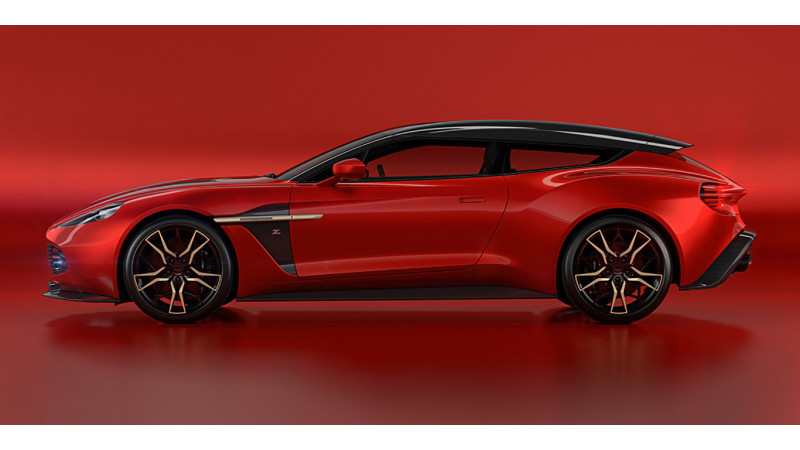 Aston Martin Vanquish Zagato Shooting Brake unveiled