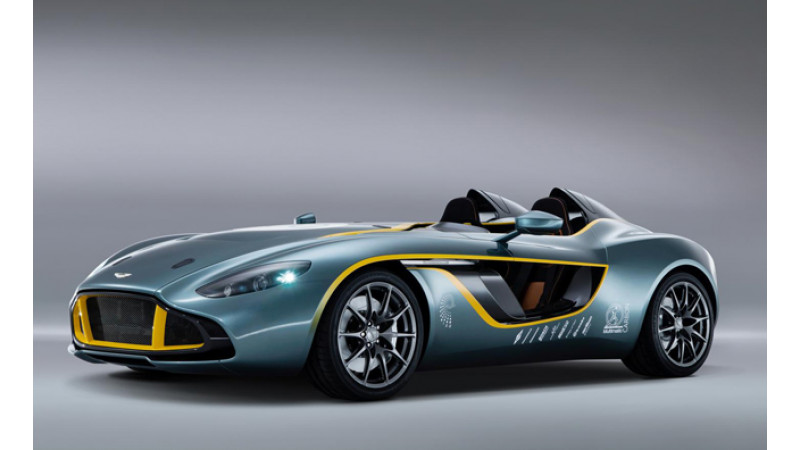 Aston Martin CC100 Speedster Concept revealed in Germany