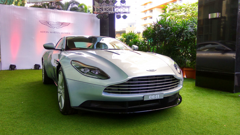 Aston Martin showcases the V12 DB11, bookings open