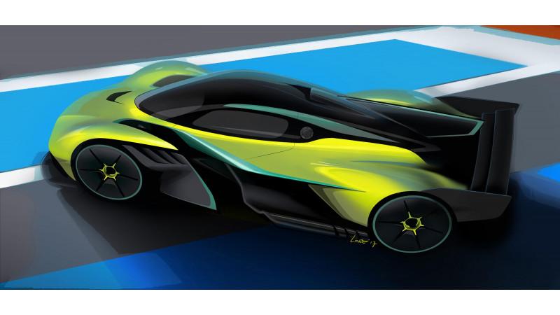 Aston Martin Valkyrie AMR Pro hypercar revealed