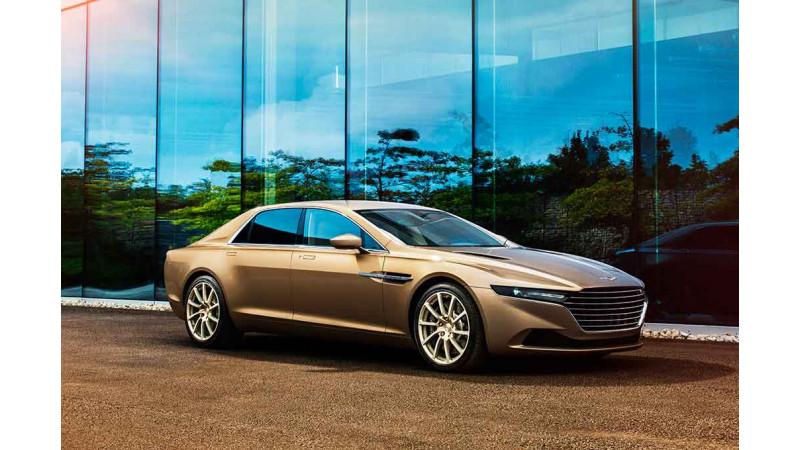 Aston-Martin might revive Lagonda for luxe-sedans