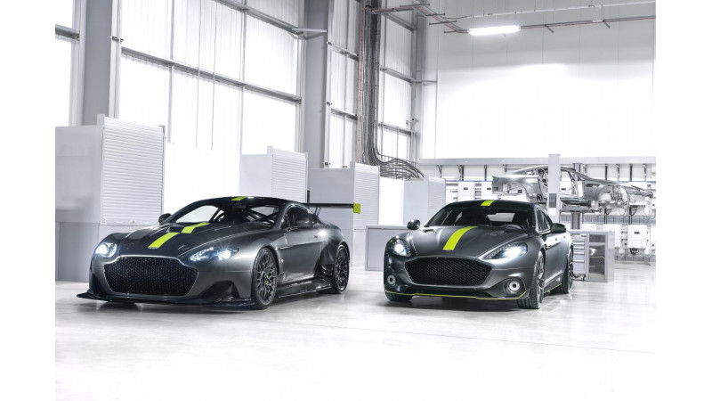 Geneva 2017: Aston Martin introduces Rapide AMR and Vantage AMR Pro