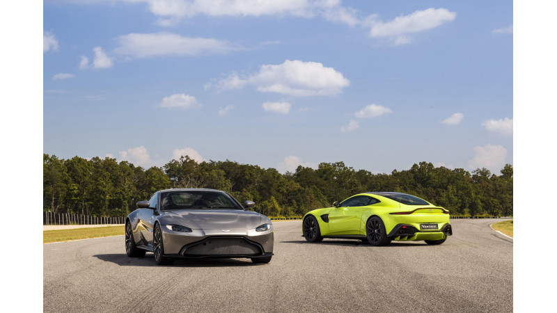 2019 Aston Martin Vantage revealed