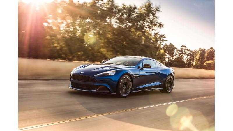 New Aston Martin Vanquish S revealed