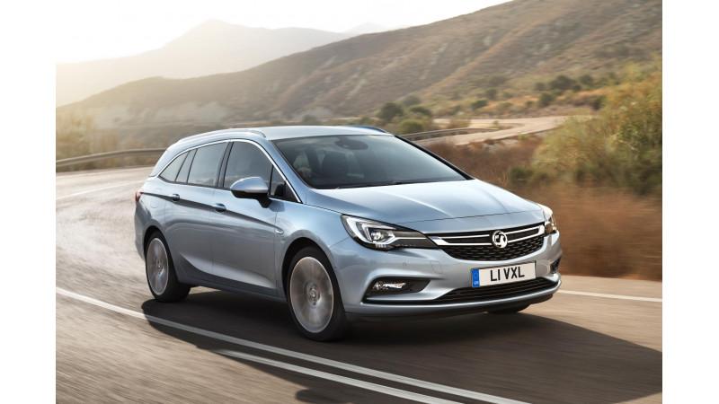 Geneva Motor Show 2016     Opel Astra and Opel Astra TCR showcased