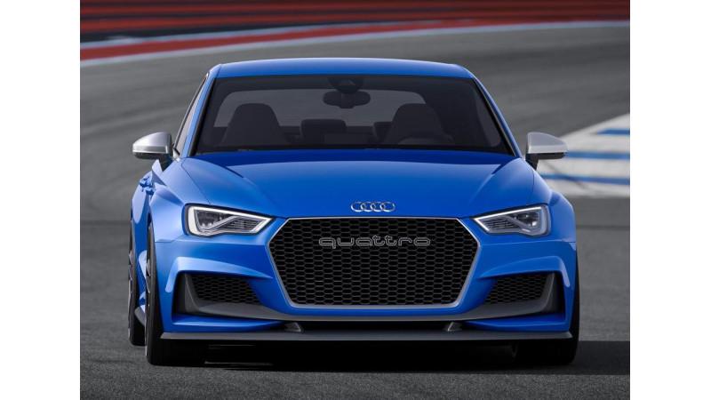 Audi A3 Clubsport Quattro Concept Unveiled Cartrade