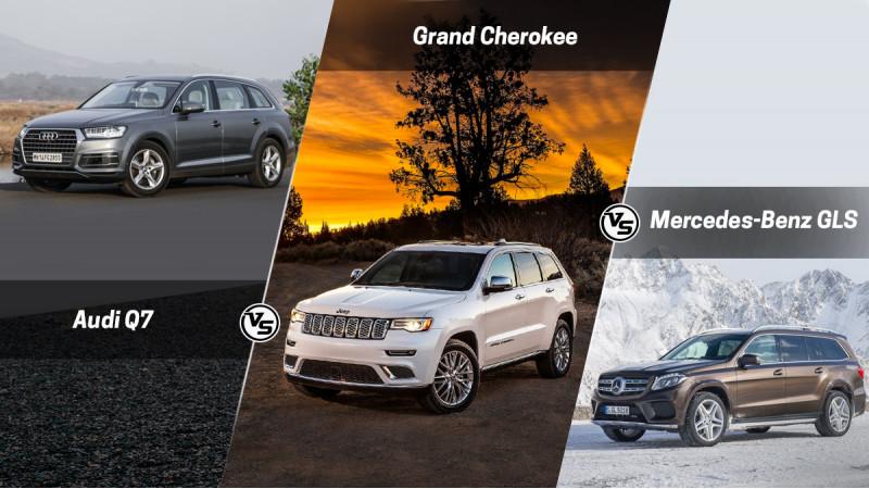 Spec comparison: Audi Q7 Vs Jeep Cherokee Vs Mercedes-Benz GLS