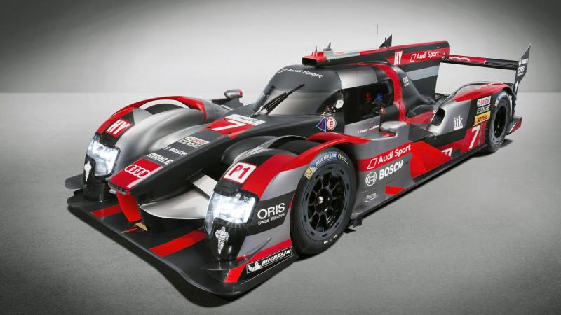 2016 Audi R18 LMP1 race car revealed