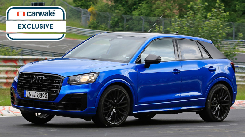 Audi SQ2 spotted on test; likely to launch in late 2017