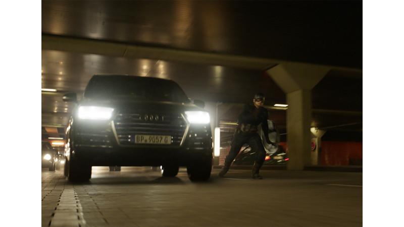 Audi range joins hero cast of Captain America Civil War