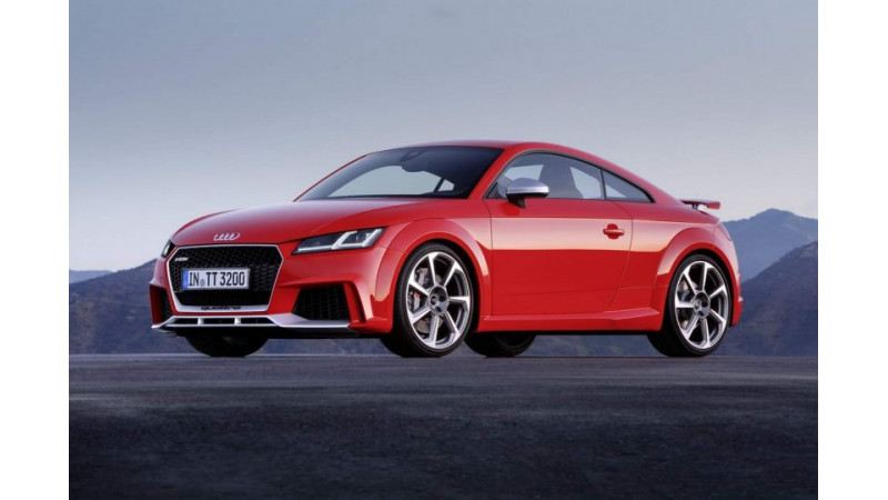 Audi TT RS makes its global debut at the Beijing Auto Show