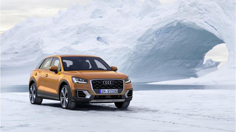 Audi reveals the new Q2 crossover at Geneva