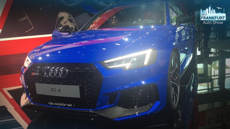 Frankfurt Auto Show 2017: New Audi RS4 Avant unveiled