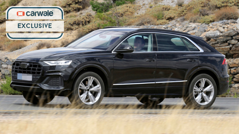 Audi continues testing the new Q8 flagship