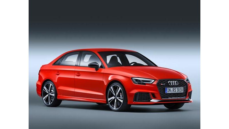 2016 Paris Motor Show: Audi revealed the RS 3 Sedan